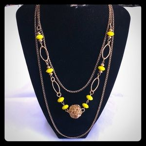 Jewelry - Beautiful Adjustable Length Gold-tone Necklace